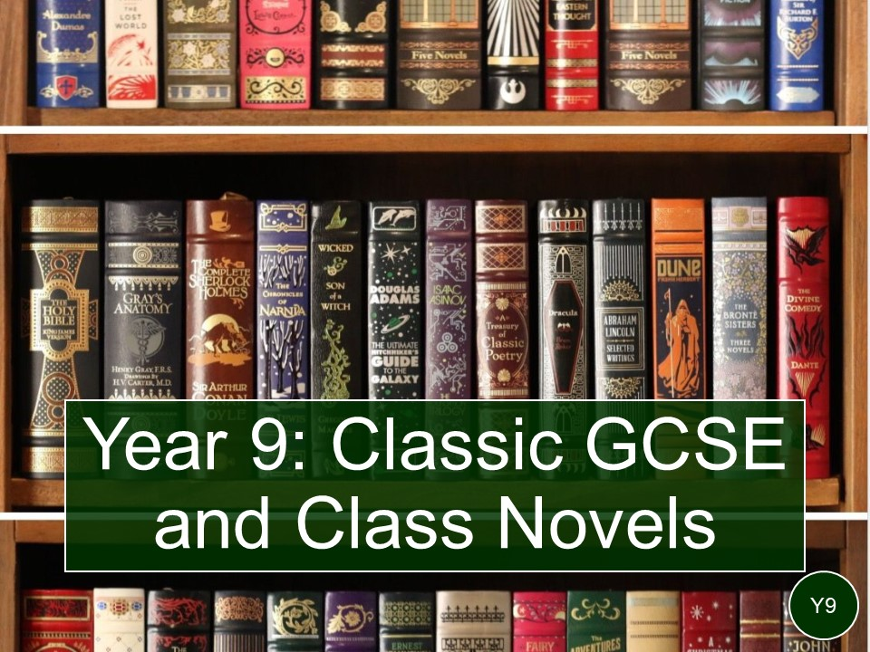 Year 9 novels and class texts